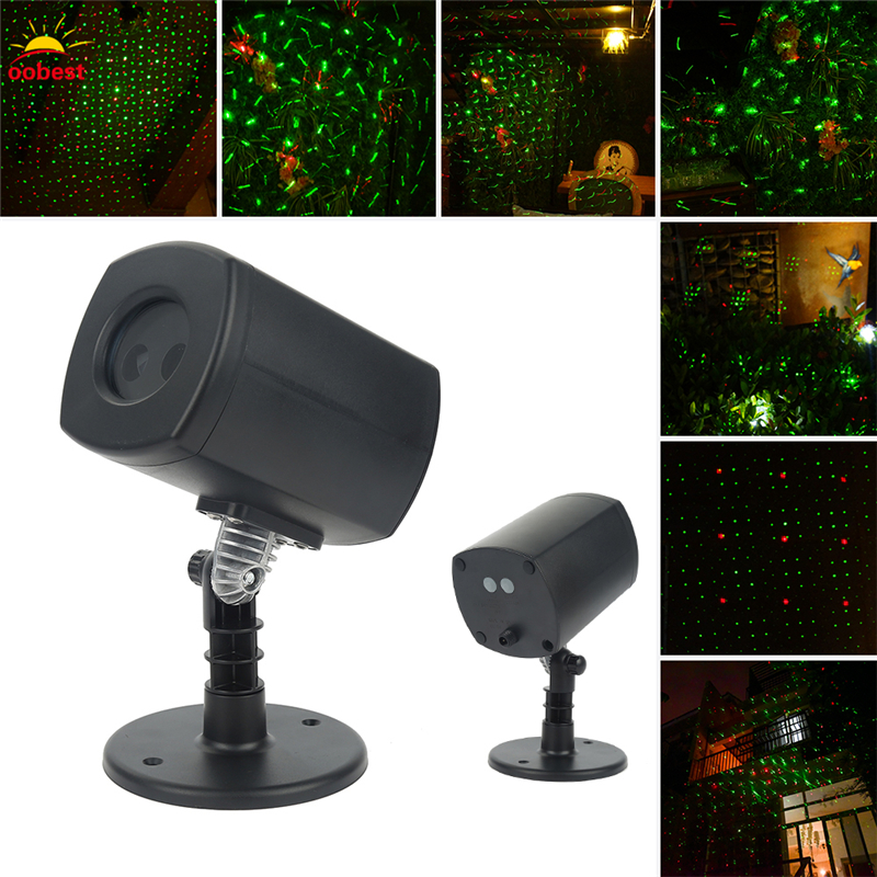 Outdoor Garden Decoration Waterproof Christmas party halloween Laser Light Star Projector Showers Red Green Static Twinkle beautiful alumium ip67 outdoor eu us uk plug tree garden party festival christmas decoration green red mini led laser light