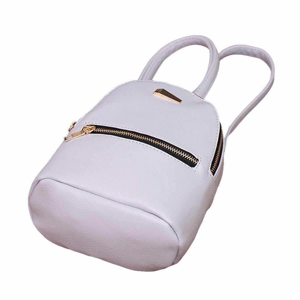 Venda quente Mulheres Saco de Escola Mochila De Couro Mochila Ombro Faculdade Mochila Student Travel Bag Bookbag Backpack Para As Mulheres Menina