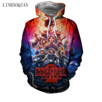 Stranger Things New 3D Hoodies Men Women Pullovers Sweatshirts Cool Upside Down Eleven Print Male Hooded