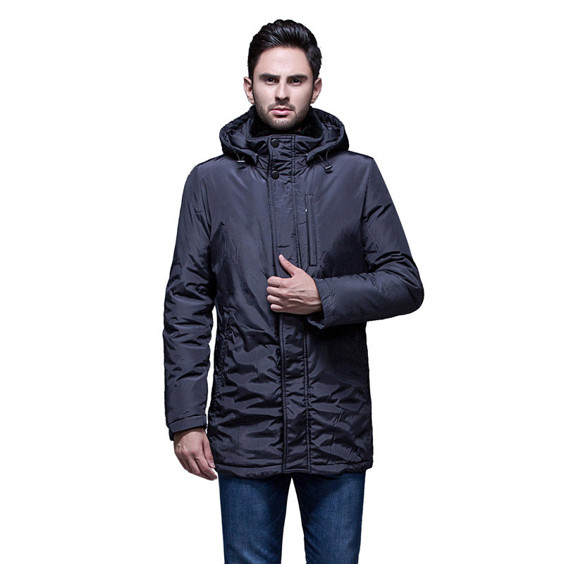 winter Down jacket for men Europe and USA luxury Rex Rabbit collar duck down jacket Minus 40 degrees warm coat size 48-56 Q305