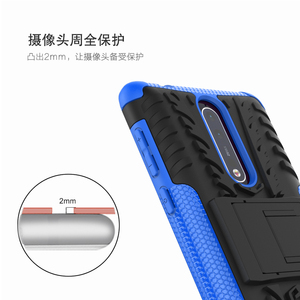 Image 5 - Case For Nokia 7.1 6.1 5.1 3.1 Plus X7 X6 X5 Shockproof Silicone Armor Phone Case For Nokia 8 6 5 3 2 1 TPU Full Cover Back Case