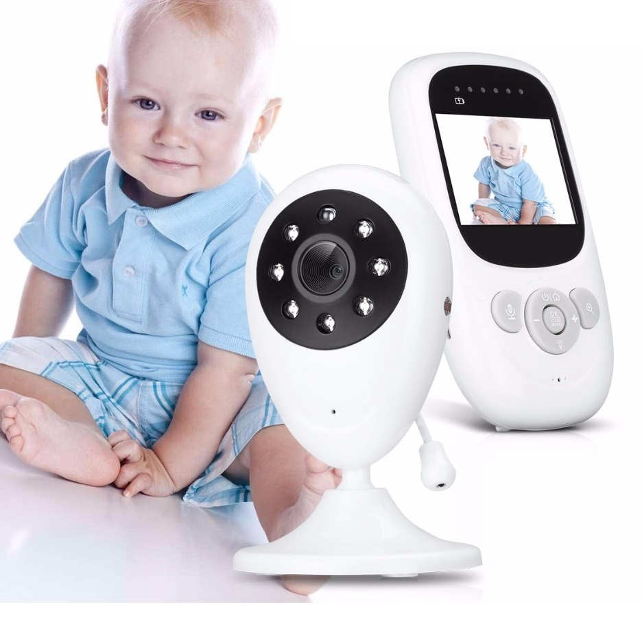 Babykam baba eletronica nanny baby monitor with camera 2.4 inch IR Night Vision Intercom Temperature monitor baby camera nanny