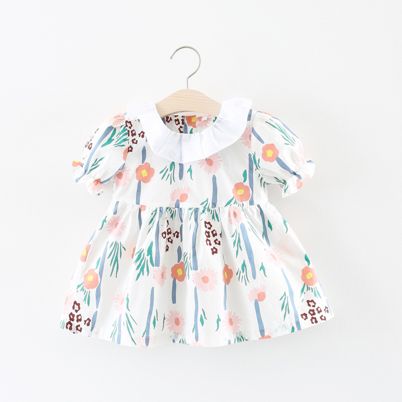 Baby Girl Clothes Baby Dress Summer 2018 Fashion Casual Floral Infant Dresses for Girls Clothing Princess Toddler Dress Vestidos