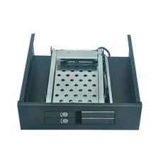 Optical bay 2*2.5″ Laborious  Rack sata raid hdd enclosure to five.25″ PC bay