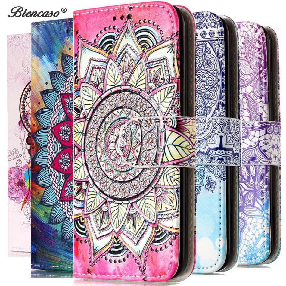 Wallet <font><b>Flip</b></font> Cover For <font><b>Samsung</b></font> Galaxy S9 S8 Plus S6 S7 Edge J3 <font><b>J5</b></font> <font><b>2017</b></font> J330 J530 J320 J310 Note 8 PU Leather <font><b>Case</b></font> Funda B06 image