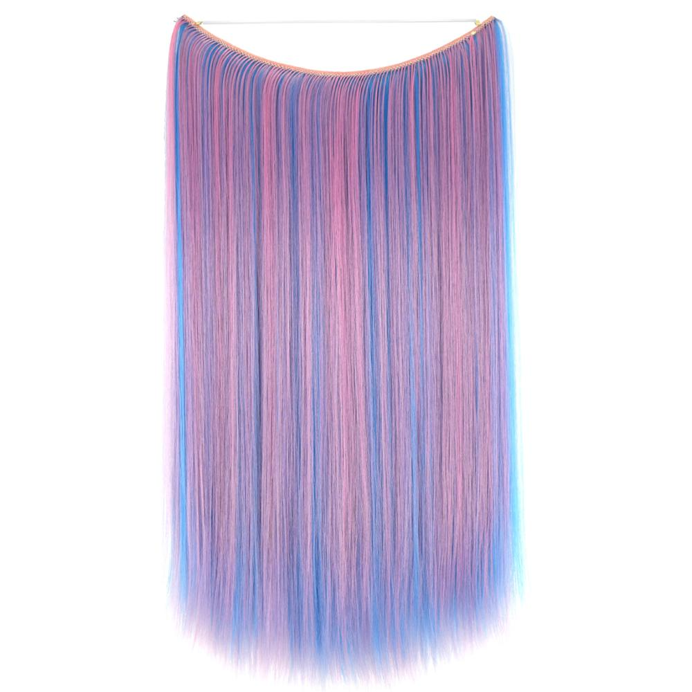 TOPREETY Heat Resistant Synthetic Hair Straight 24