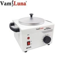 VamsLuna Salon Electric Hot Wax Warmer Heater Facial Skin Hair Removal Spa Tool