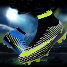 Indoor futsal soccer boots sneakers men Cheap soccer cleats superfly original sock football shoes with ankle boots high hall sufei men football boots tf high ankle superfly soccer shoes turf cheap sock cleats kids futsal sport training sneakers