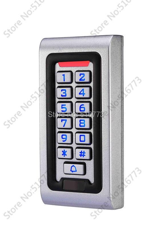 2000 Benutzer, Rfid Metall Zutrittskontrollsystem, Unterstützung Karte, Pin, Karte + Pin