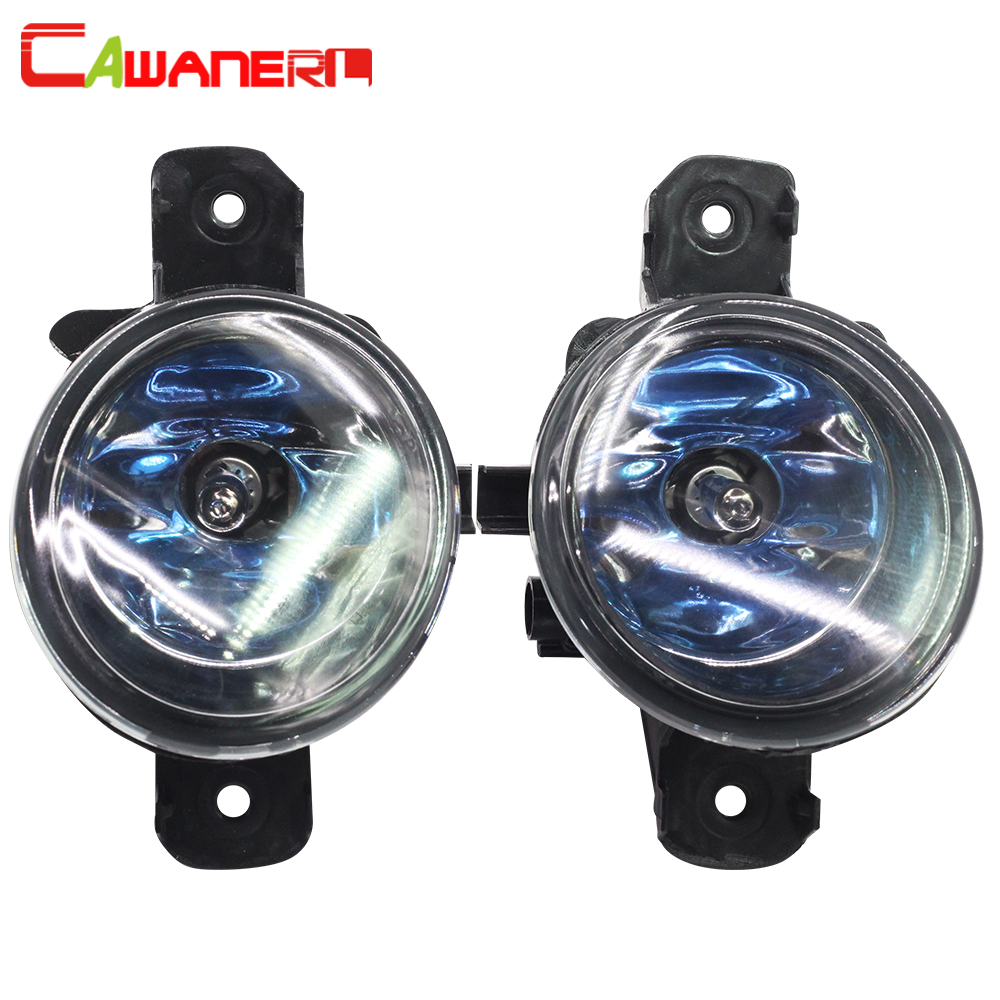 Cawanerl 2 X H11 100W Car Accessories Halogen Lamp Fog Light DRL Daytime Running Lamp 12V For Nissan Primera 2002-2015 car dvd player accessories external digital tv box dvb t2 dual tuner receiver box set