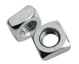 Stainless Square Nut, Square Threaded Nuts M3 M4 M5 M6 M8 M10 thread 304 stainless steel square nut fastener nut screw m4 m5 m6 m8 m10