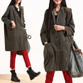 2016  women's new  spring and autumn half-sleeve  loose plus size outerwear