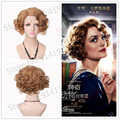 Queenie Blonde Short Curly Wigs Synthetic Cosplay Wig Fantastic Beasts and Where to Find Them Heat Resistant