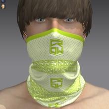 Custom UPF 15+ logo printing fishing multifunctional seamless tube neckwear Custom made Hiking Scarves