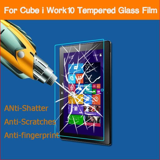 "0.26mm 2.5D Vidrio Templado de cine para CUBE U100GT IWORK10 win8 10.1 ""Tablet PC Anti-shatter Pantalla frontal protector de la película Protectora"