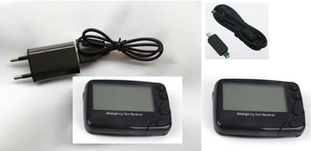 Pager receiver, 137-930Mhz, wireless calling pager, POCSAG or Flex, 2pc alpha pagers, 1pc USB ID cable,pager restaurante