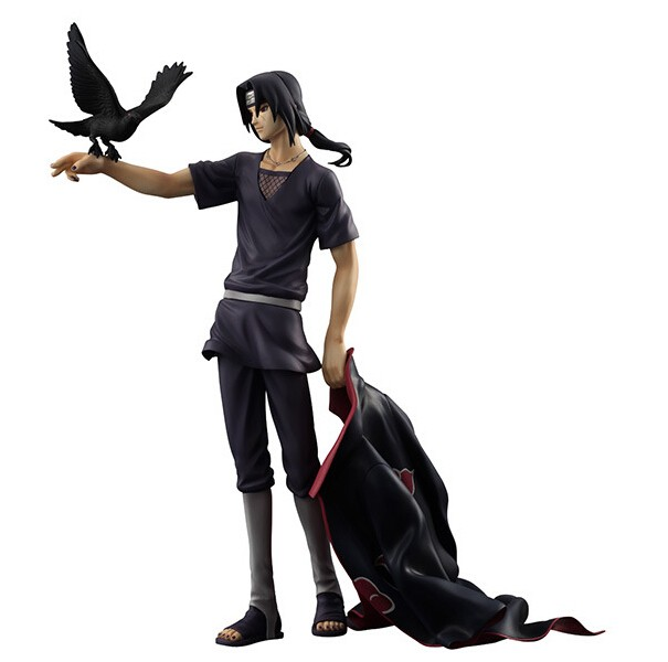 Naruto Shippuden Uchiha Itachi PVC Action Figure Juguetes 230MM Japanese Anime Naruto Uchiha Itachi Collectible Model Toy N16 naruto figure uchiha obito japanese anime pvc 9 84