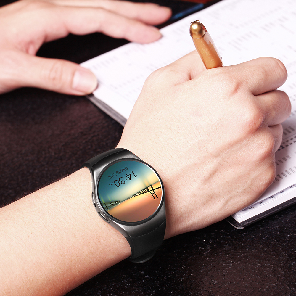 Original font b smart b font font b watch b font phone KW18 MTK2502C Smartwatch 1