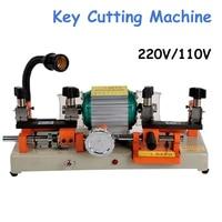 220V 110V version horizontal key cutting machine double head key copy machine for door and car key cutter machine