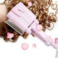 32 мм керамическая трехтрубная Плойка для волос, тройная бочка, глубокая волна, волнистая вода, яичные рулоны, щипцы для завивки волос, инстру...