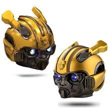 Bumblebee Helm Bluetooth Lautsprecher Fm Radio Usb Mp3 TF Smart Subwoofer Blue Tooth 5,0 Tragbare Mini Wireless Stereo Lautsprecher