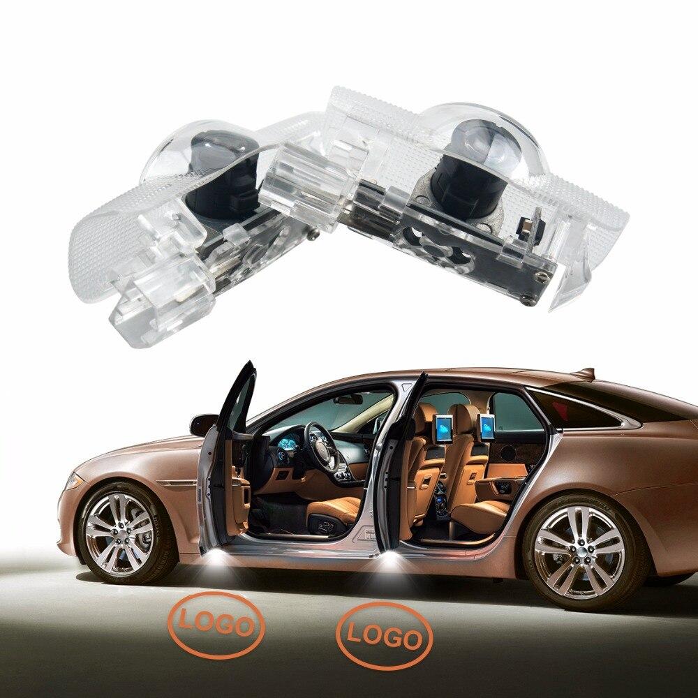 Newest 2Pcs Car Door Light Ghost Shadow Light Logo Projector Guest Lamp for Infiniti Q50 FX35 FX37 F50 G37 QX70 QX60 EX35 G35