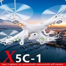 X5C-1 zangão FPV RC Quadcopter Zangão Câmera 2.4G 4 Eixo Brinquedo DO Helicóptero Do RC Quadcopter Drones Pode Levar Câmera Wi-fi HD zangão
