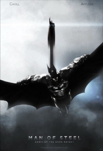 Top Selling 39 Batman Vs Superman Flying 50x75cm Poster Best Decal Wall Paper