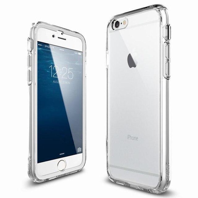 1fcbe989aa7 New Arrival 4.7 5.5 inch Transparent Case Cases for fundas carcasas iphone  6/6plus 6 6 plus de tapa marcas cristal transparente