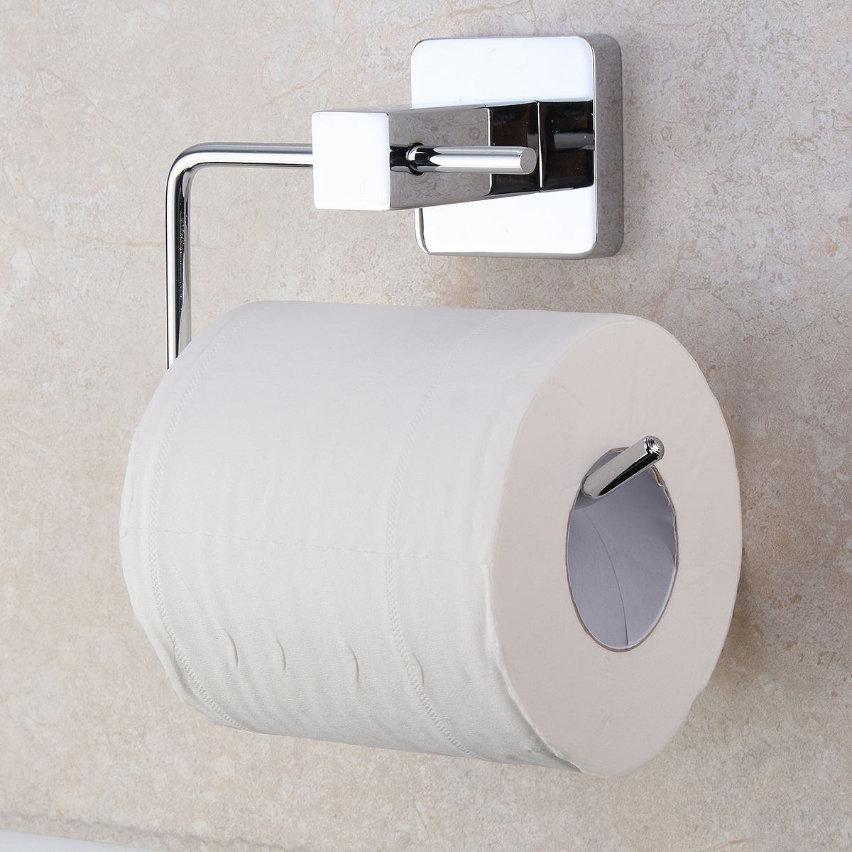 14x10cm Stainless Steel Paper Roll Tissue Holder Towel Hook Bar Wall  Mounted Chrome Plated Bathroom Toilet. Compare Prices on Tissue Holder Stand  Online Shopping Buy Low