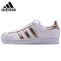 Оригинальный Новое поступление 2018 Adidas Originals Superstar Для женщин Скейтбординг обувь кроссовки