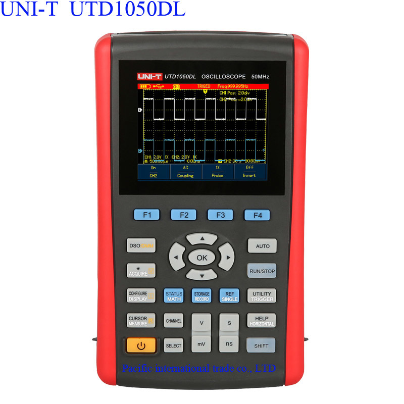 Handheld Digital Storage Oscilloscopes UNI-T UTD1050DL 3.5