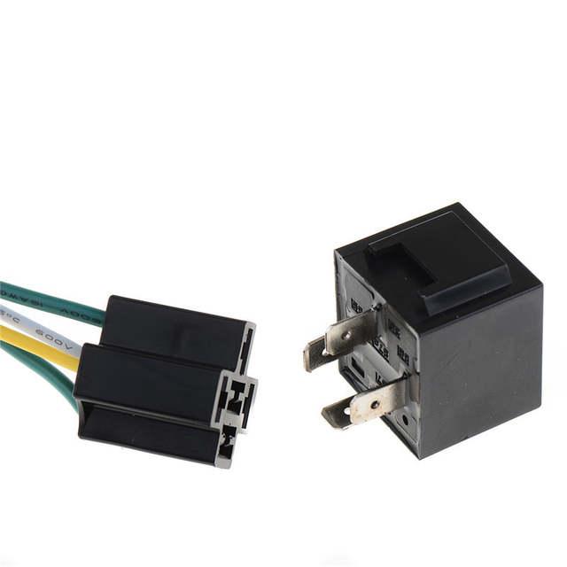 Online Shop 1Pcs 12V 12Volt 40A Auto Automotive Relay Socket 40 Amp on 2 pole relay wiring, hella relay wiring, 40 amp fuse box, high power relay wiring, 240v relay wiring, plug in relay wiring, 4 pole relay wiring, 3 pole relay wiring, spdt relay wiring,