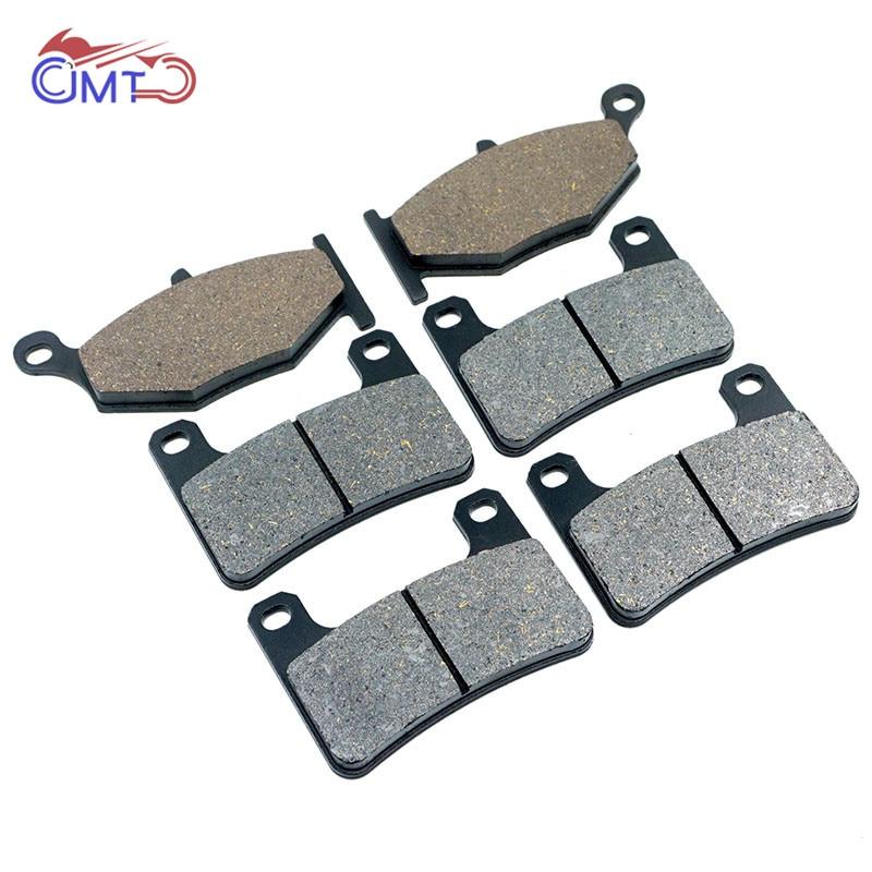 Передние и задние тормозные колодки для suzuki gsxr600 gsxr750