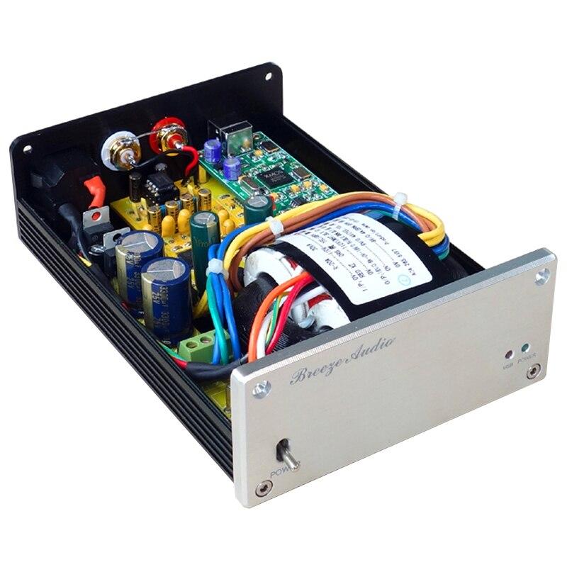 Breeze audio SU1 PRO ADUM High Speed Digital Isolated XMOS USB DAC AK4495 AUDIO Decoder  Amplifier