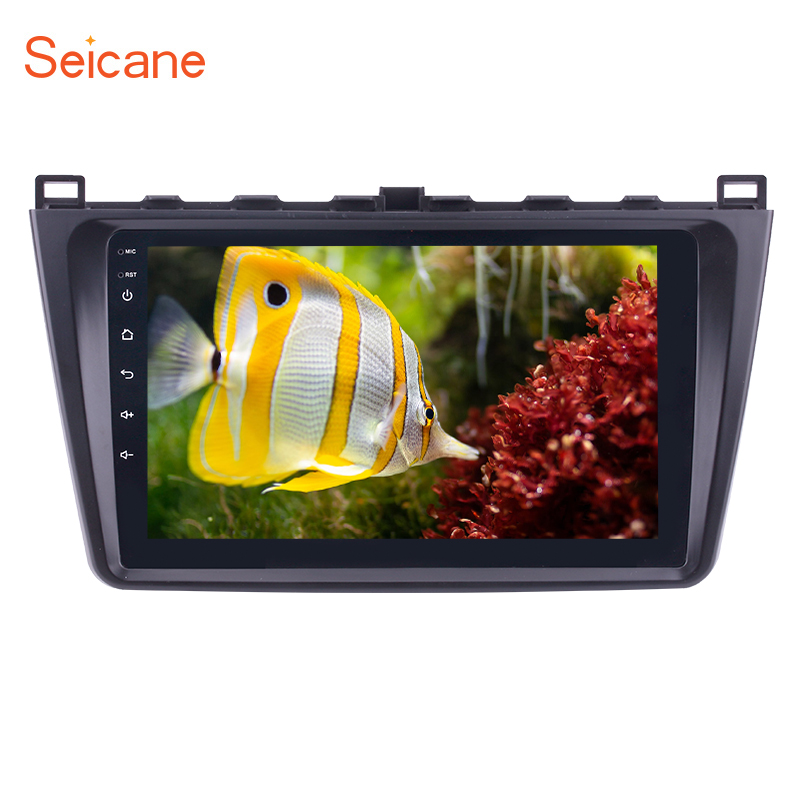 Seicane 9 inch Android 8.1 Car Radio GPS Navi Multimedia Player For 2008 2009 2015 Mazda 6 Rui wing 8 Core IPS 2.5D Screen RDS-in Car Multimedia Player from Automobiles & Motorcycles    1