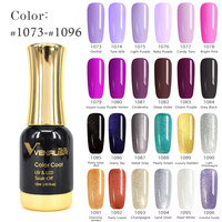 #60751 2017 New CANNI Nail Paint Gel 12ml 120 colors Gel Polish Nail Gel Soak Off UV Gel Polish