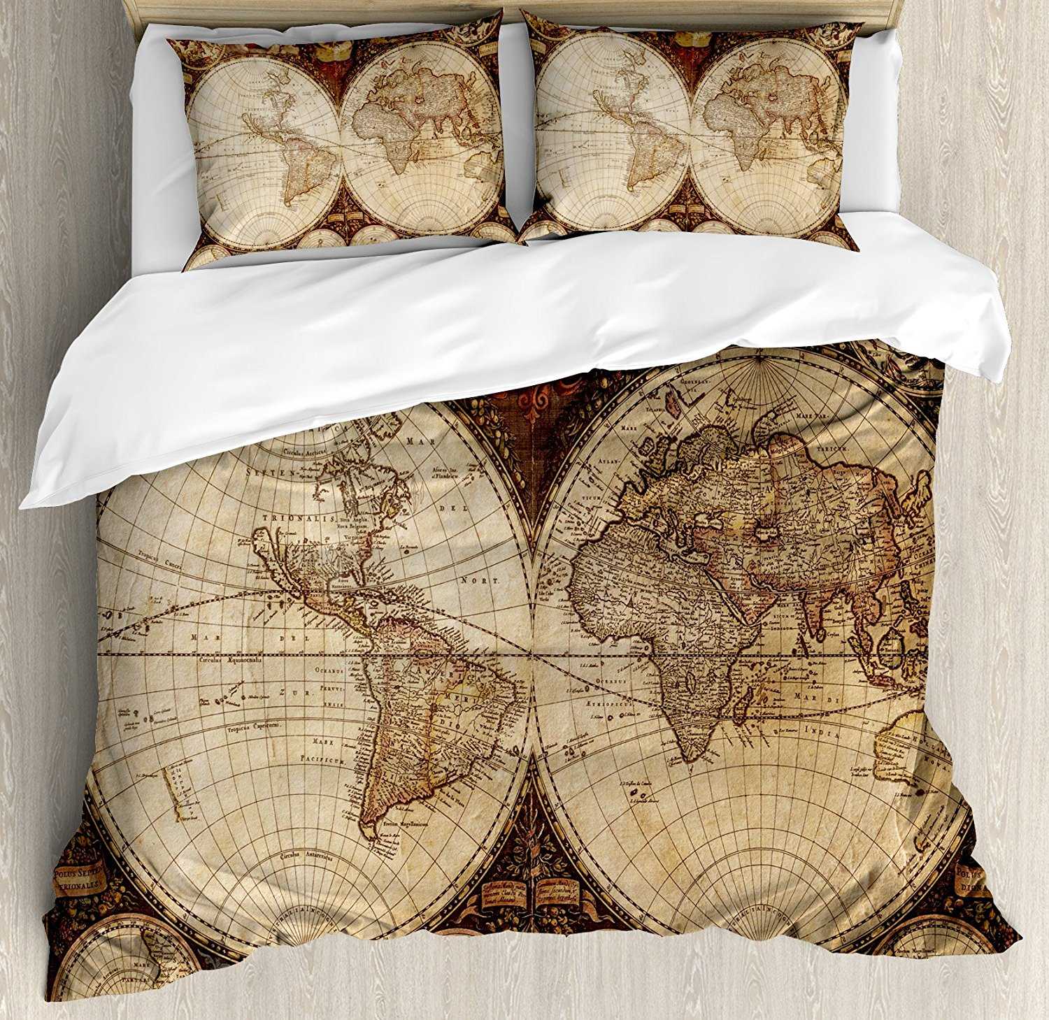 Buy map duvet cover and get free shipping on aliexpress gumiabroncs Image collections