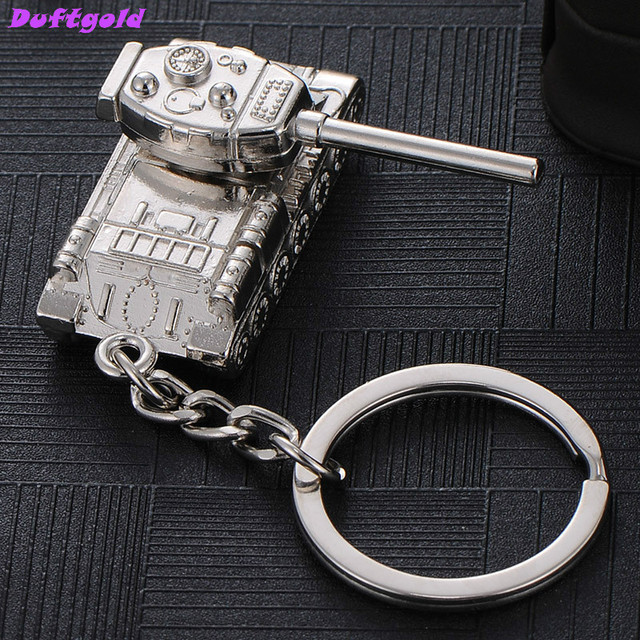 f3c77077d650 US $2.92 21% OFF|Creative Car Key Ring World of Tanks Waist Hanging Buckle  Tank Keychain Men Accessories Bag Charm Key Chains Chaveiros Criativos-in  ...