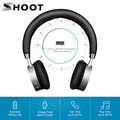 SHOOT 4.0 Wireless Bluetooth Headphones for iPhone Xiaomi Android Phone with Microphone Bluedi On Ear Noise-isolating Headset