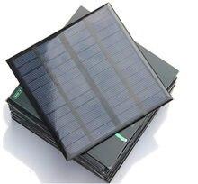 3 Вт поликристаллические Кремниевые Солнечные батареи 12 В зарядное