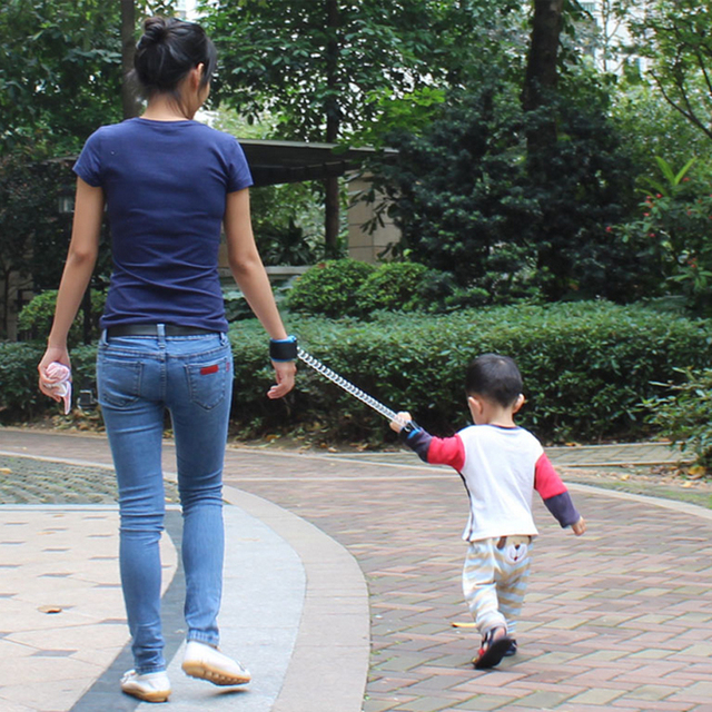 Free Shipping High Quality Child Anti Lost With Elastic Wire Rope Baby Lost Not To Scratch The Hand ATRQ0244