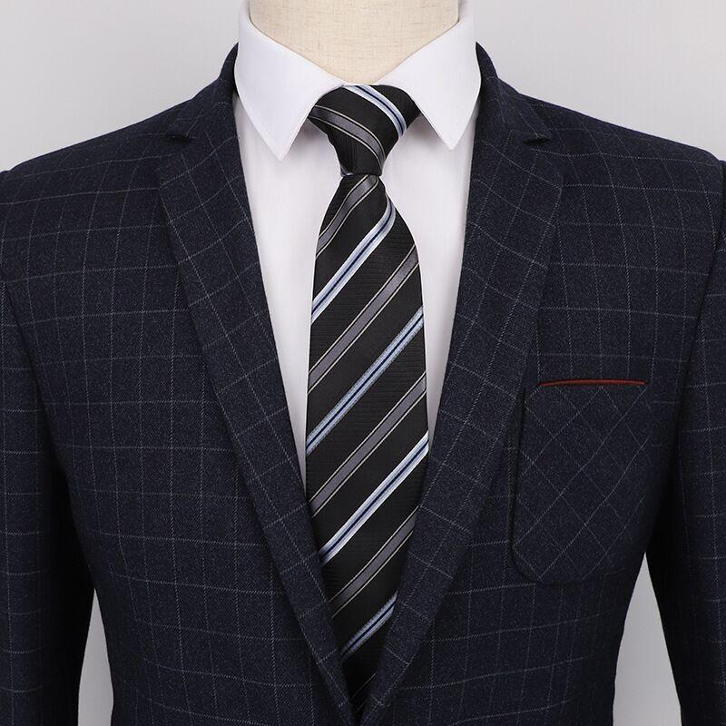 6.5 centímetros de moda Gravata Para Homens gravatás laço magro Estreito magro Estilo Coreano Festa de Casamento Aniversary homens parágrafos