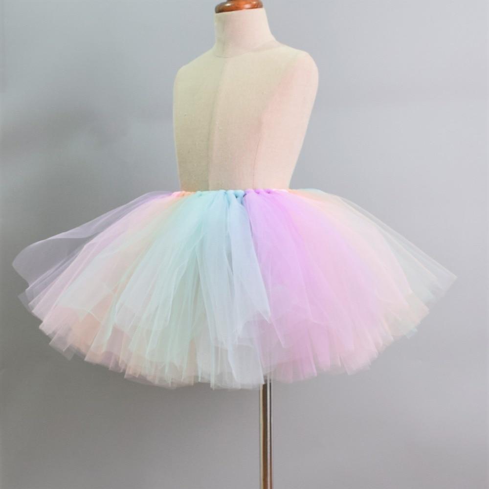 02d48e5be8dd73b Кружевные платья маленькой принцессы, летние однотонные фатиновые платья-пачки  без рукавов для девочек 2