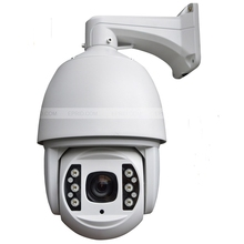 6 inch 3 Megapixel 1080P HD High Speed IP PTZ Dome Camera 18x Optical Focus