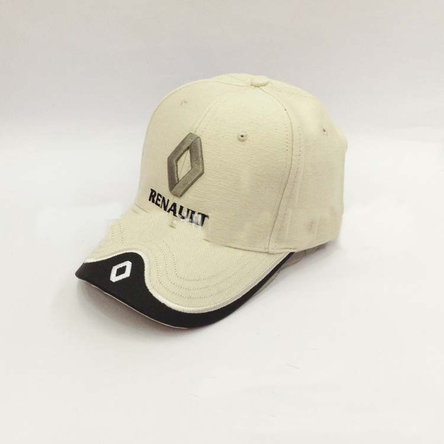 ea4ddd38fb8 F1 Renault car sports racing Team hat sun visor fasion Embroidery cotton  caps model C55F welcome wholesalers