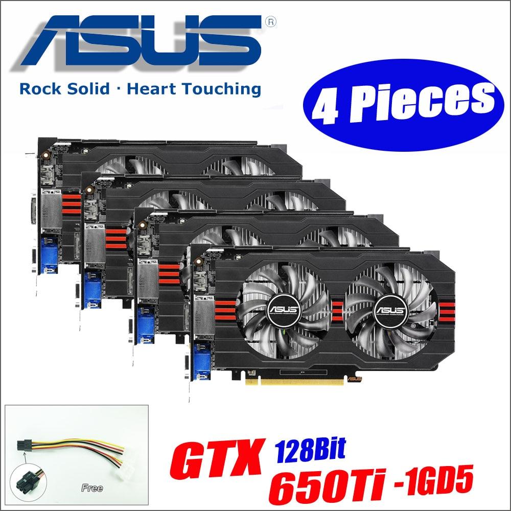 Festplatte Teile Pcb Logic Board Leiterplatte 100724095 Rev Eine Fr Hard Drive Parts Printed Circuit 100617465 For Asus Graphics Card Used Original 4pieces Gtx650ti 1gd5 Gtx 650 Ti 1gb 128bit Gddr5 Video