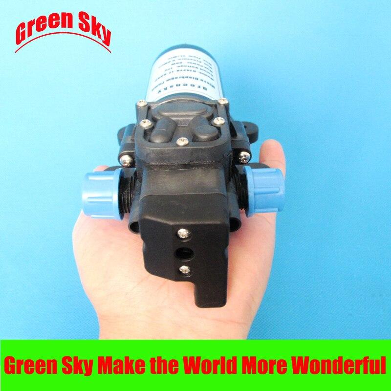 5l/min 60 W automático de pressão tipo de switch com on/off botão e jack dc auto-priming 12 v dc elétrica mini bomba de diafragma