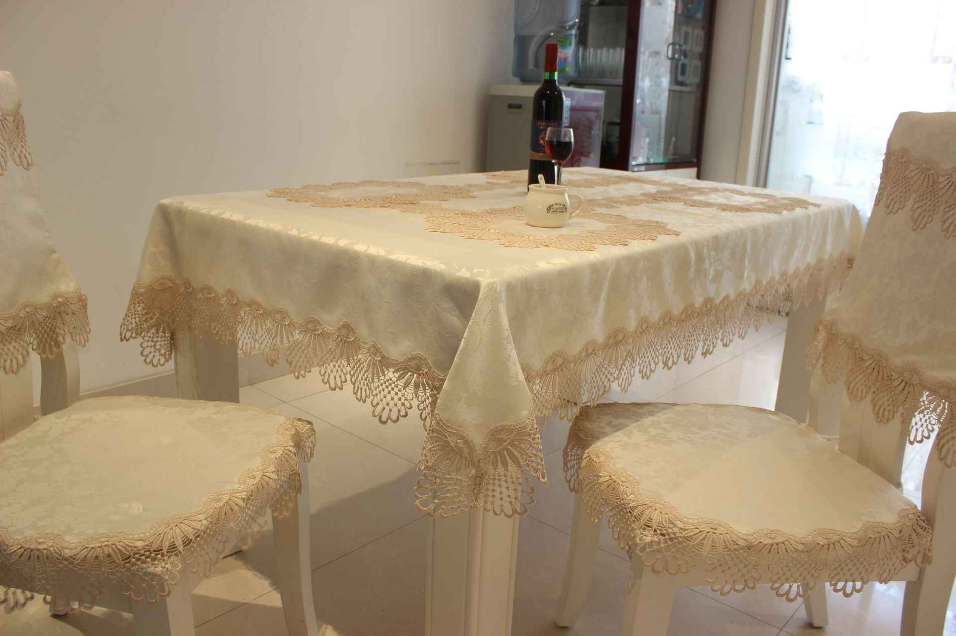 150 270cm Large Size Home Decor Textile Towel Table Cloth Lace Tablecloth Rectangular Round Oval Dining Table Cover Table Cloths Tablecloths Aliexpress