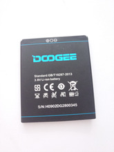 цена на Original battery for DOOGEE DG580 smartphone 2500mAh backup Li-ion battery for DOOGEE KISSME DG580